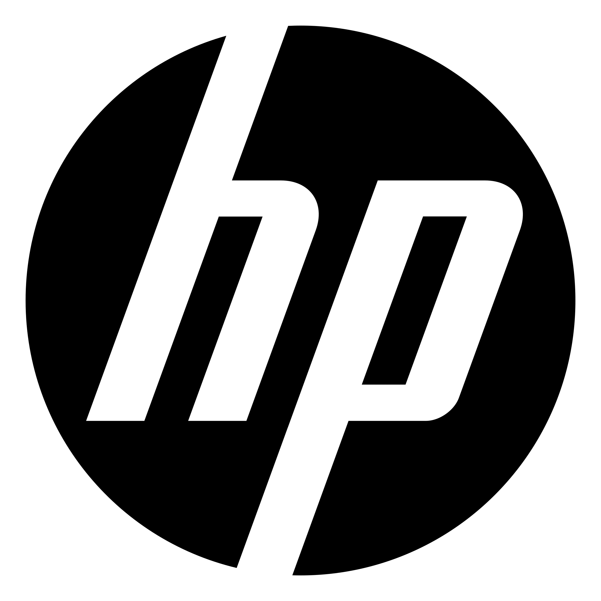 logo ordinateurs hp